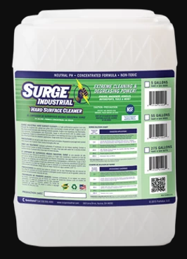 Surge Industrial Commercial Hard Surface Cleaner Concentrate - 5 Gallon Jug