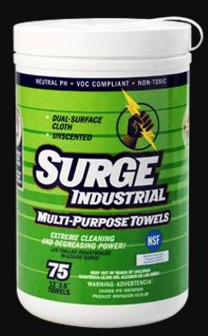 Surge Industrial Multi-Purpose Towels - 6 Bottles