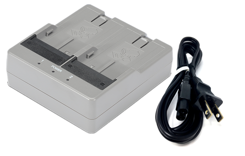 Topcon Charger Battery Dual Charger for BDC71/BDC72 Batteries (1039170-02)