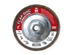 Type 29 Aluminum Oxide Flap Disc: Grit/WT- 80
