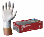 West Chester 4 Mil Industrial Grade Lightly Powdered Latex Gloves