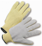 West Chester Aramid Shell Leather Palm Gloves