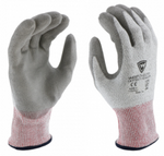 West Chester Gray PU Palm Coated Speckle Gray HPPE Gloves
