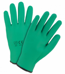 West Chester Green Fully Coated Nitrile Foam Gloves