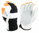 West Chester Nomex® Black/Orange Slip On Grain Goatskin Kevlar® High Dexterity Gloves