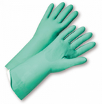 West Chester Posigrip 11 Mil Unlined Green Nitrile Chemical Resistant Gloves