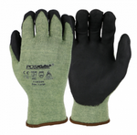 West Chester PosiGrip™ 13 Gauge Black Microfoam Nitrile Palm Coated Steel Cut Resistant Gloves