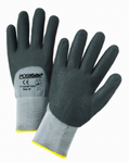 West Chester PosiGrip™ 15 Gauge Black Foam Dotted Nitrile Palm 3/4 Dipped Grey Nylon Gloves