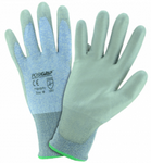 West Chester PosiGrip™ 18 Gauge Speckle Blue HPPE PU Coated String Knit Gloves