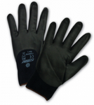 West Chester PosiGrip™ Black Foam Nitrile 3/4 Dipped Black Nylon Gloves