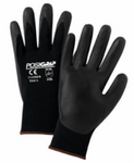 West Chester PosiGrip™ Black Foam Nitrile Palm Dipped Black Nylon Gloves