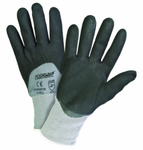 West Chester PosiGrip™ Black Microfoam Nitrile 3/4 Dipped Grey Nylon Gloves