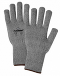 West Chester PosiGrip™ Grey String Knit Glove Liner