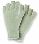 West Chester Premium Natural White Fingerless Cotton/Polyester String Knit Gloves
