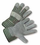 West Chester Standard Split Cowhide Palm Rubberized Cuff Gloves