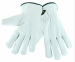 West Chester White Leather Cut Resistant Driver Gloves (Arc Flash)