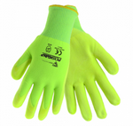 West Chester Yellow Hi-Viz Nitrile Microfoam Air Palm Coated Gloves