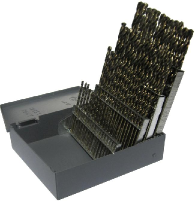 1 60 cobalt steel jobber drill bit set 60 pieces drill america 1 60 cobalt steel jobber drill bit set 60 pieces drill greentooth Images