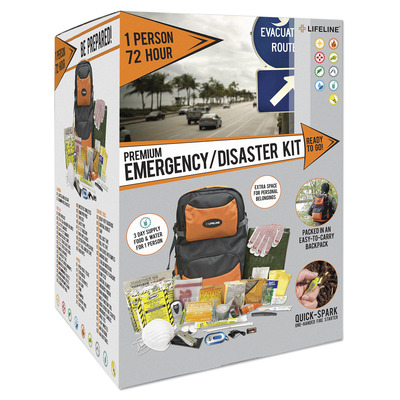 1 Person 72 Hour Premium Disaster Kit