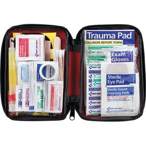 104-Piece Auto First Aid Kit, Softpack