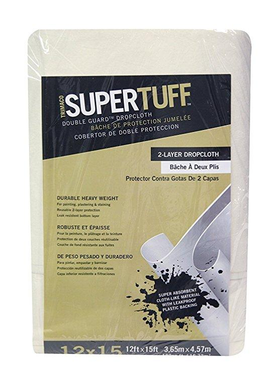 12' X 15' SUPERTUFF™ DOUBLE GUARD® DROPCLOTH