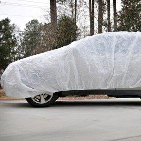 12 X 24' FULL-SIZE, SUPERTUFF LIGHTWEIGHT PROTECTIVE CAR COVERS