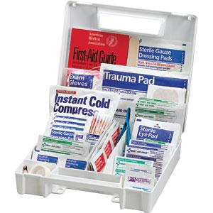 131-Piece All-Purpose First Aid Kit, Plastic