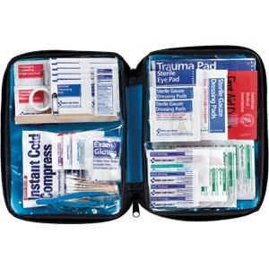 131-Piece All-Purpose First Aid Kit, Softpack Case