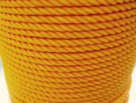 1/4 x 1200 Ft Spool Yellow Poly Rope