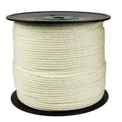 1/4 x 1200' Weeping Cord, White