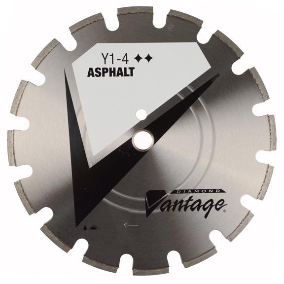 14 x .375 x 1 Diamond Vantage: X4-4: Heavy Duty Grade for Asphalt