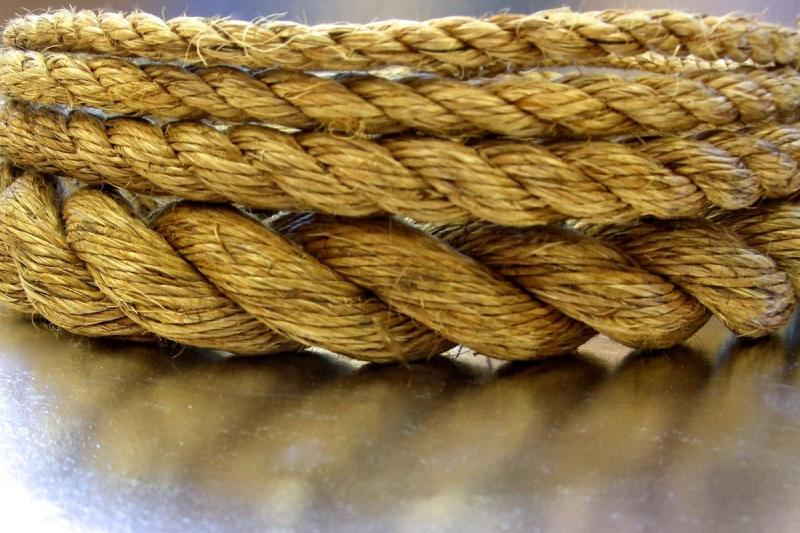 1/4 x 600' Box Manila Rope