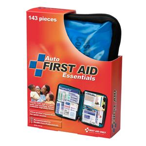 143-Piece Auto First Aid Kit, Softpack