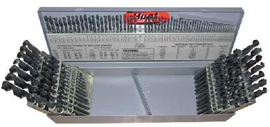 1 60 a z 116 12x64ths 115 piece cobalt drill bit set qualtech 1 60 a z 116 12x64ths 115 piece keyboard keysfo Gallery