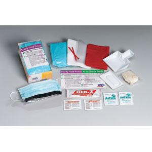 16-Piece Bodily Fluid Clean-Up Kit w/ Disposable Tray