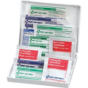 17-Piece Travel First Aid Kit, Plastic
