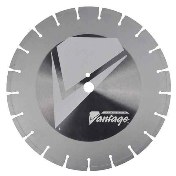 20 x .165 x 1 Diamond Vantage Walk Behind Saw Blade- For Concrete