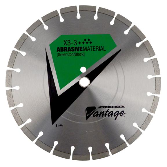 24 x .140 x 1 Diamond Vantage: X3-3: Premium Grade For Abrasive Materials