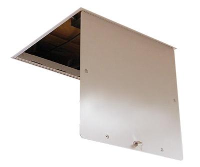 24 x 24 Aluminum Series Drop-In Ceiling Access Door  sc 1 st  Mutual Screw & 24 x 24 Aluminum Series Drop-In Ceiling Access Door - Mutual Screw ... pezcame.com
