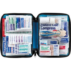 299-Piece All-Purpose First Aid Kit, Softpack Case