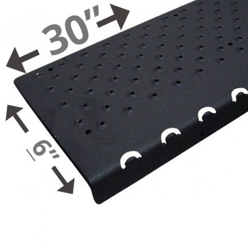 30 Non Slip Nosing 6in wide – Black