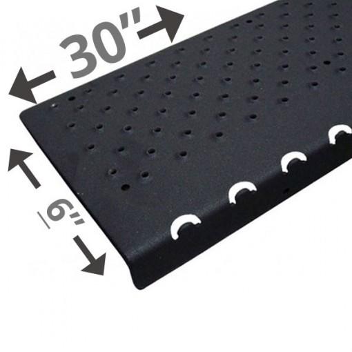 30 Non Slip Nosing 6in wide – Black