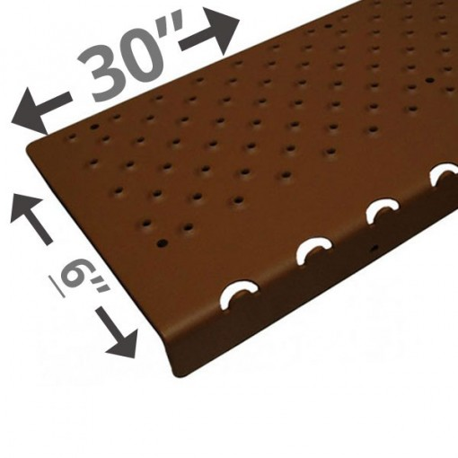 30 Non Slip Nosing 6in wide – Brown