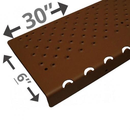 30 Non Slip Nosing 6in wide – Brown