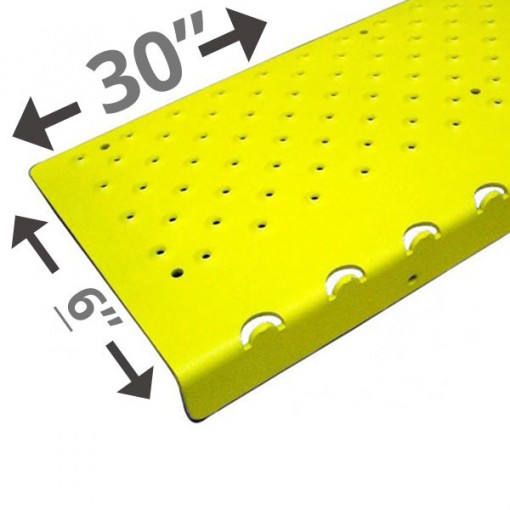 30 Non Slip Nosing 6in wide – Yellow