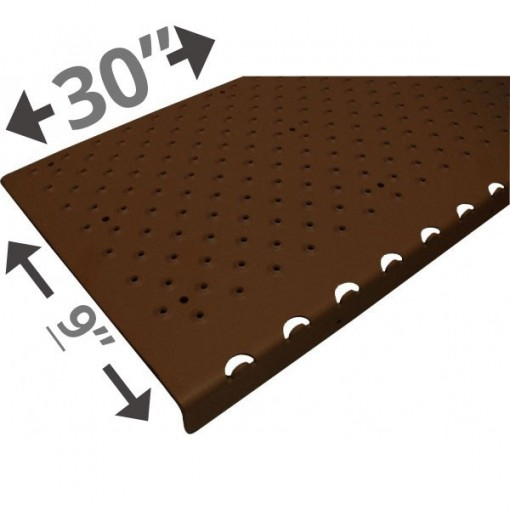 30 Non Slip Nosing 9in wide – Brown