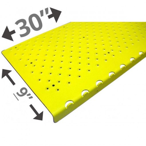 30 Non Slip Nosing 9in wide – Yellow