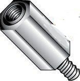 3/16 Hex Male-Female Aluminum Standoffs