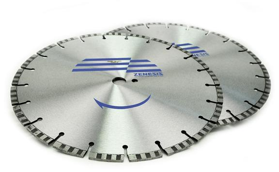 36 x .187 x 1 Diamond Vantage Walk Behind Saw Blade- Zenesis ZX4 Series