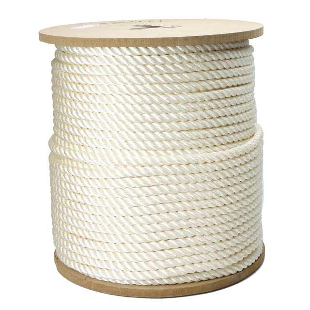 3/8 x 600' Spool Twisted Polyester Rope